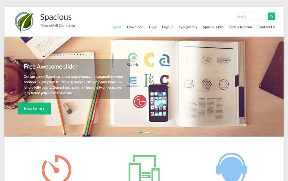 Spacious Responsive WordPress Theme