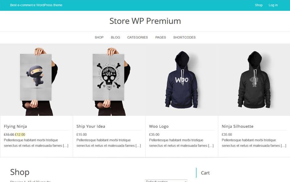 Store WP Responsive WordPress Theme