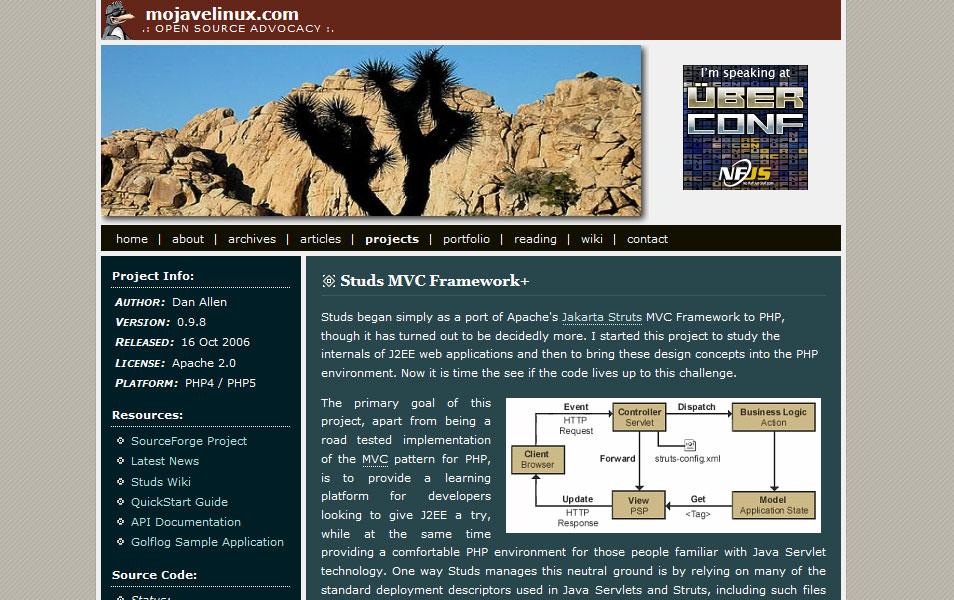 Studs MVC Framework