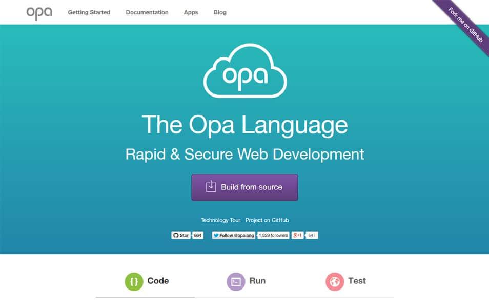 The Opa Language