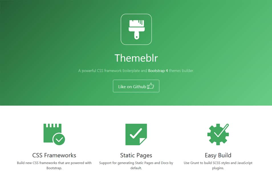 100 best css frameworks for responsive design a powerful css framework boilerplate and bootstrap 4 themes builder malvernweather Images