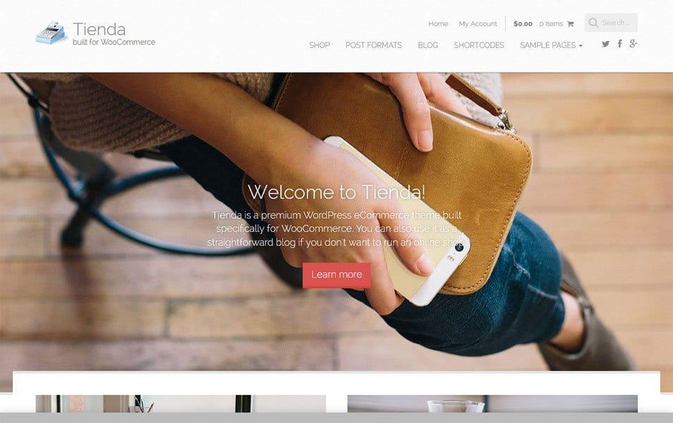 Tienda Basic Responsive WordPress Theme