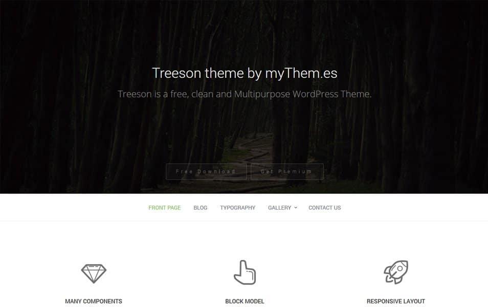 Treeson Responsive WordPress Theme
