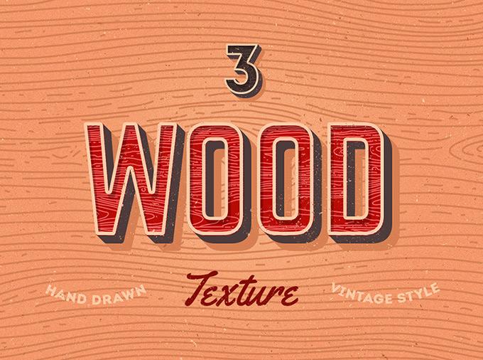 Vector Wood Textures