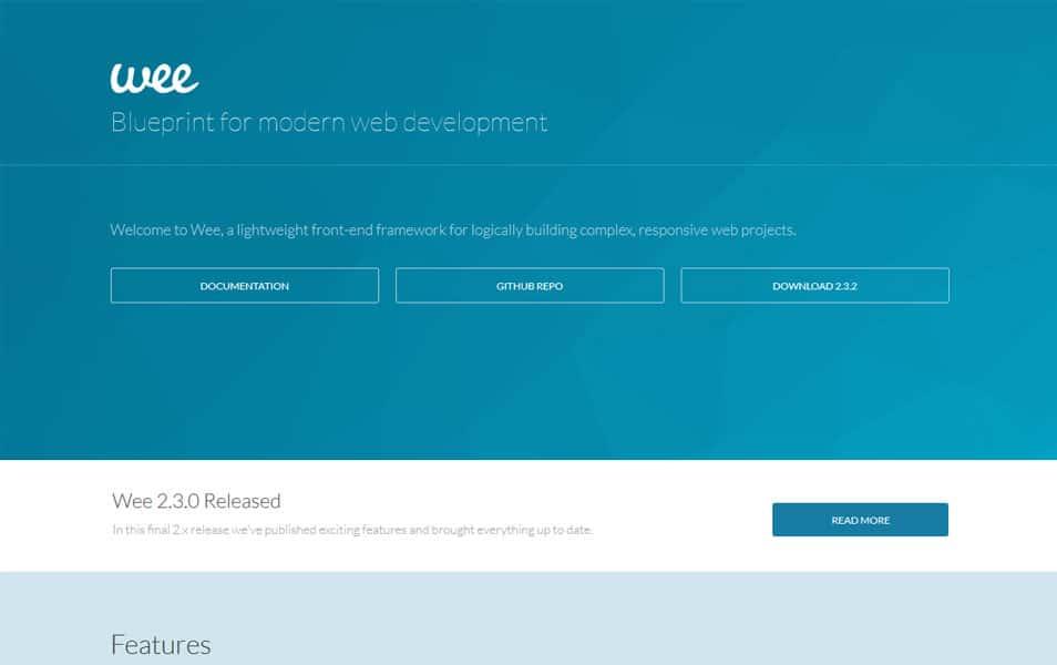 Wee: Front-End Framework
