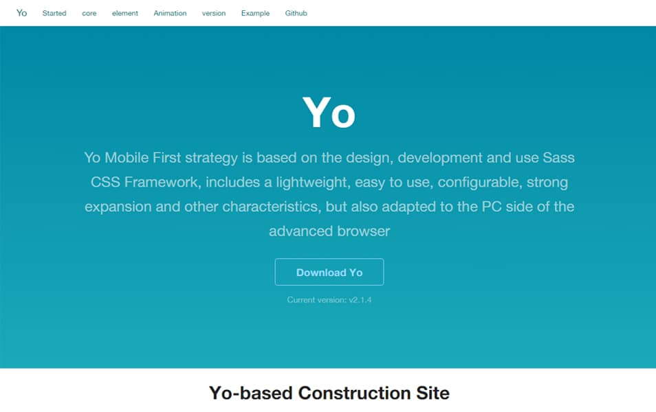100 best css frameworks for responsive design yo mobile first strategy is based on the design development and use sass css framework includes a lightweight easy to use configurable strong expansion malvernweather Image collections