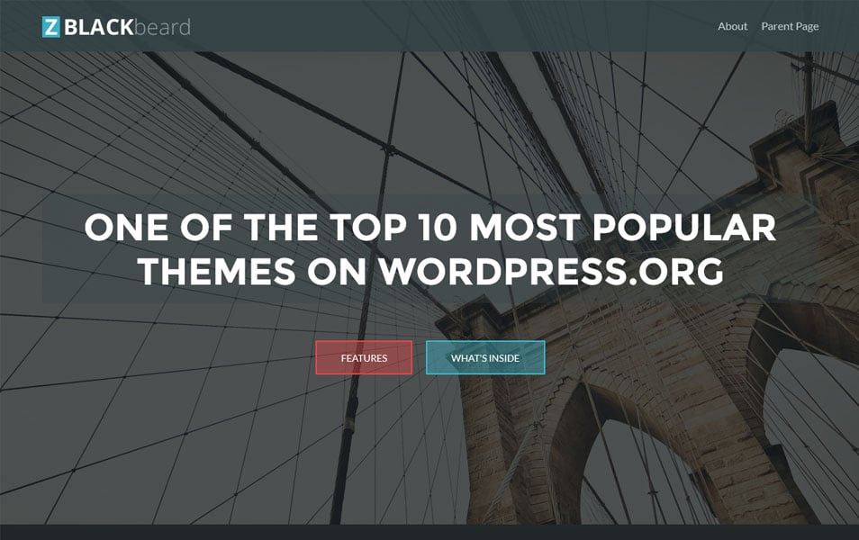 ZBlackbeard1 Responsive WordPress Theme