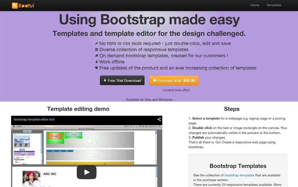 25+ Best Bootstrap Editors & Builders » CSS Author