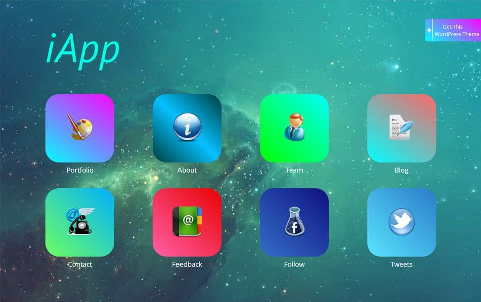 iApp Responsive WordPress Theme