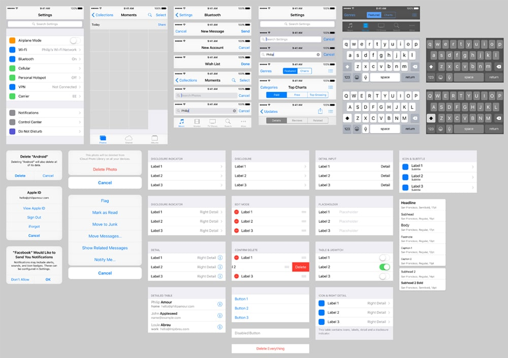 iOS-9-UI-Template-for-Sketch
