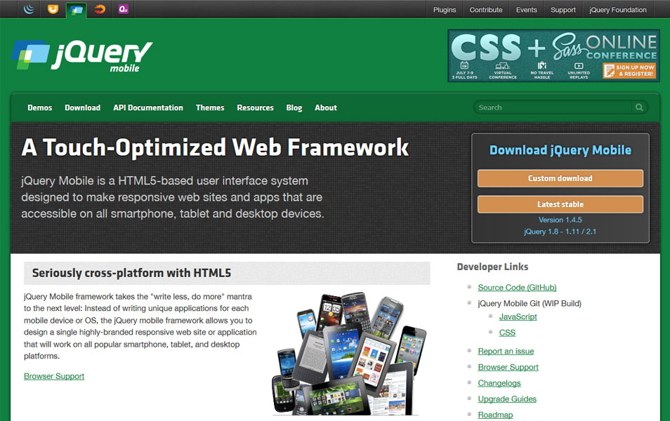 10 Frameworks To Build Mobile Lication With Html Css