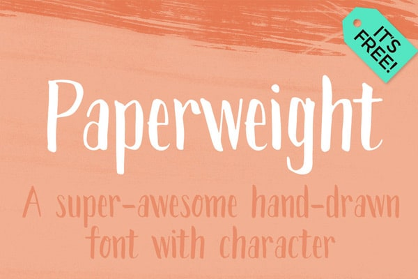 paperweight font