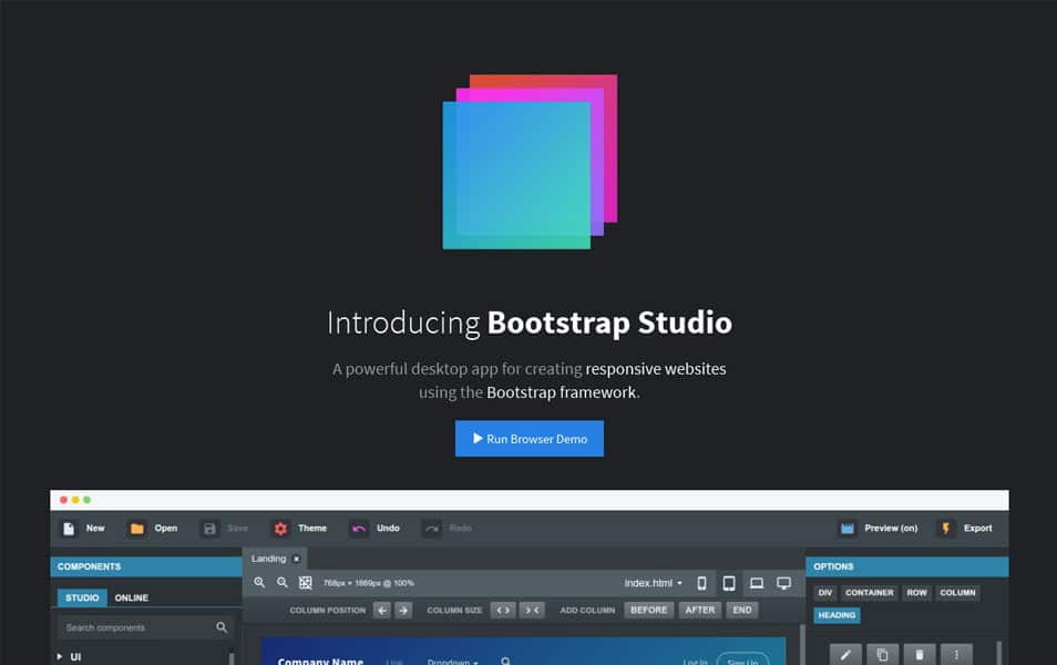 25+ Best Bootstrap Editors & Builders » CSS Author