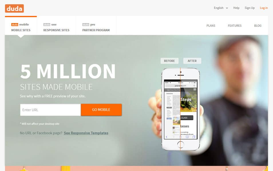 Duda Mobile Website Builder