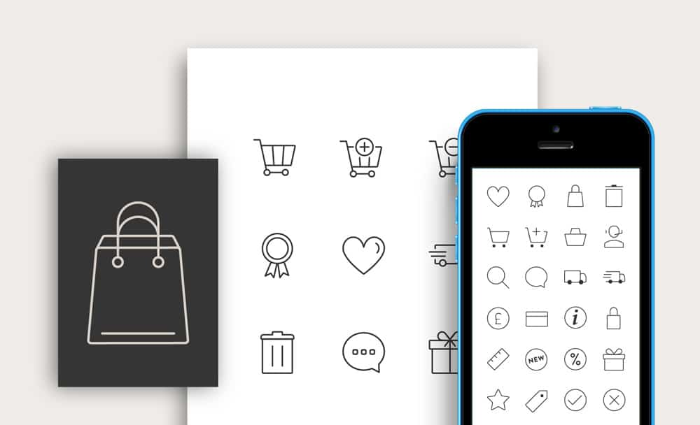 Free-Responsive-E-commerce-Icons