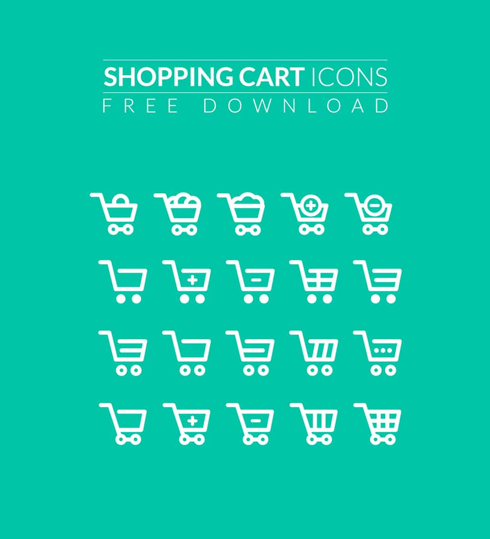 Free Shopping Flat Icons