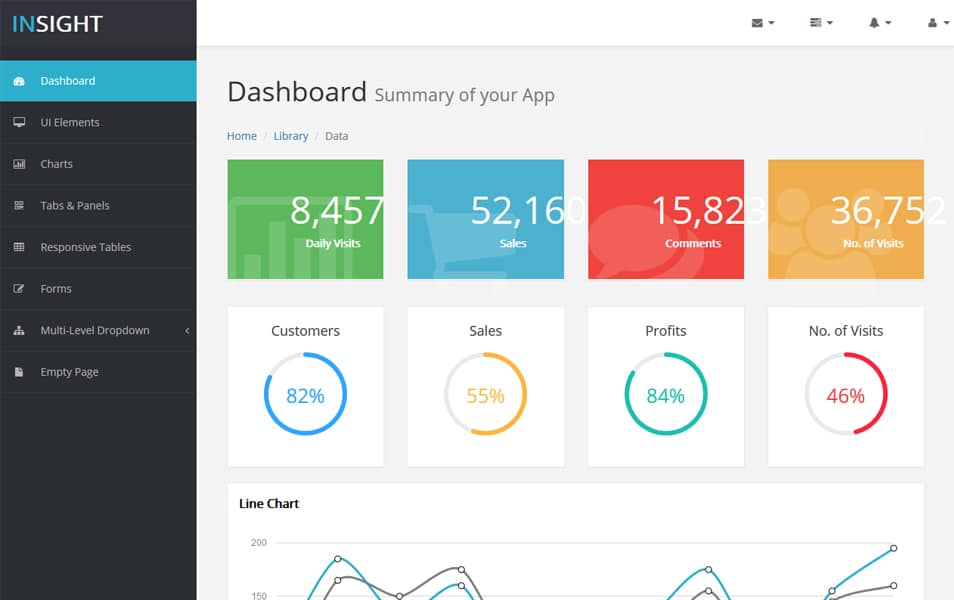 65+ Best Free Bootstrap Admin Templates » CSS Author