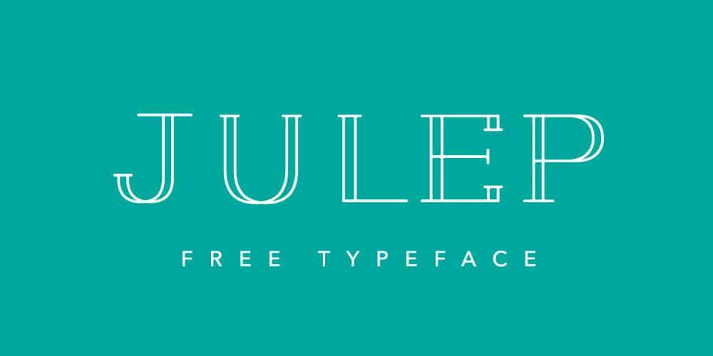 Juleep Free Typeface