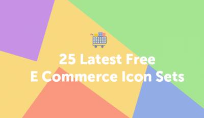 25 Latest Free E Commerce Icon Sets