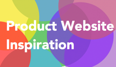 Product Website Inspiration