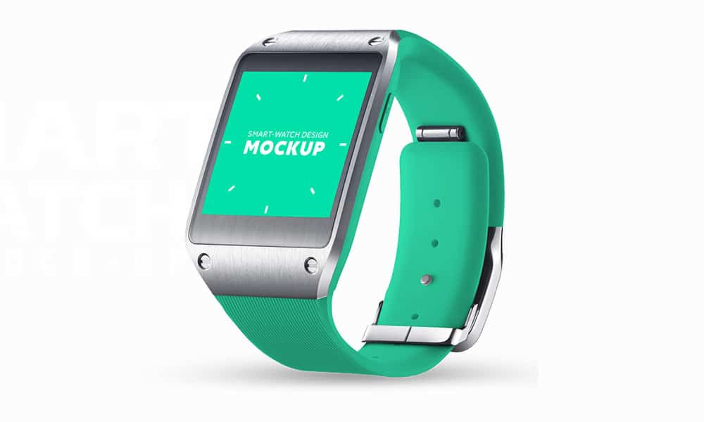 Smart Watch MockUp PSD