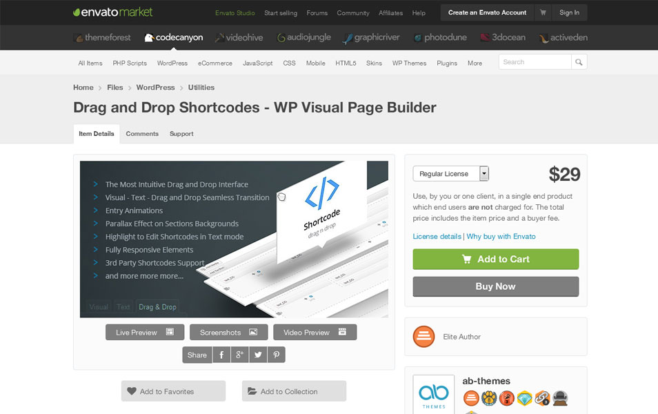 WP Visual Page Builder
