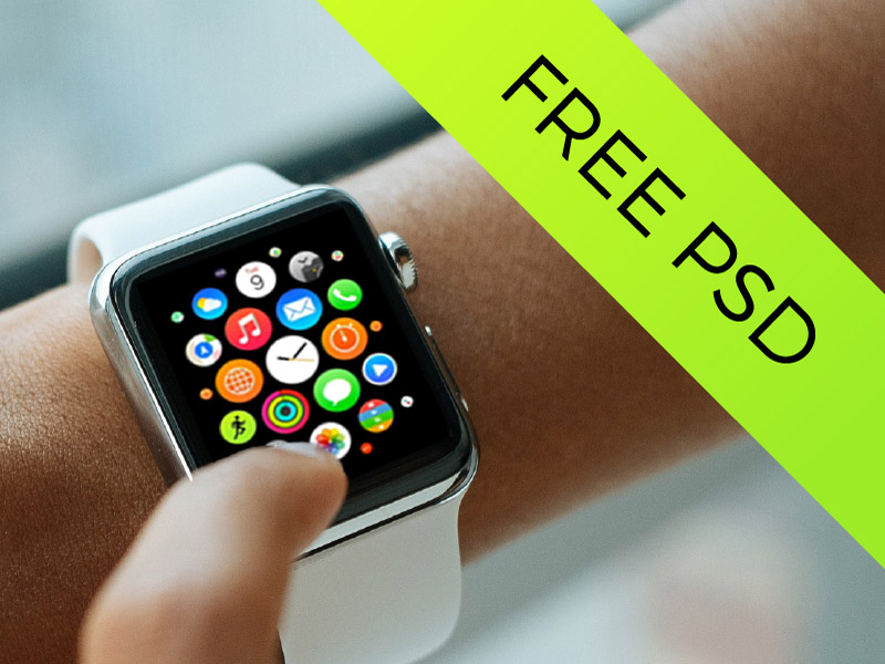 Apple Watch Mockups PSD