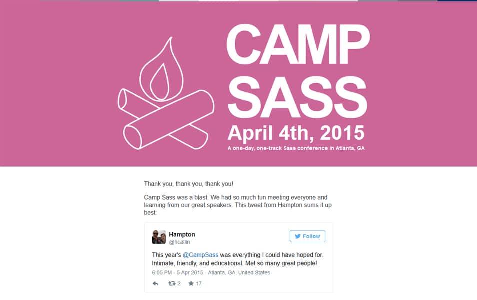 Camp Sass