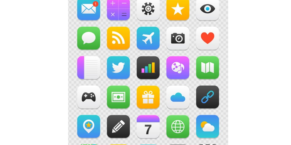 Free Mobile App Icons