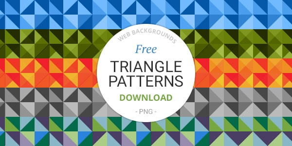 Free Triangle Patterns