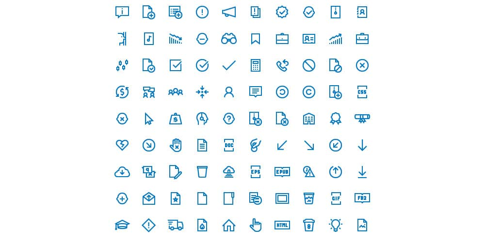 Free Windows 10 Icons