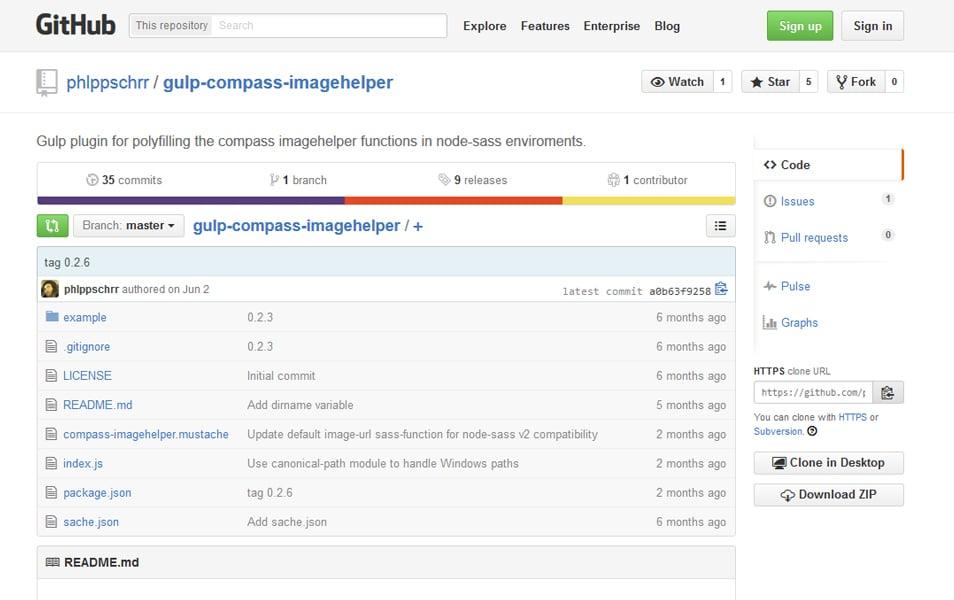 Gulp Compass Imagehelper