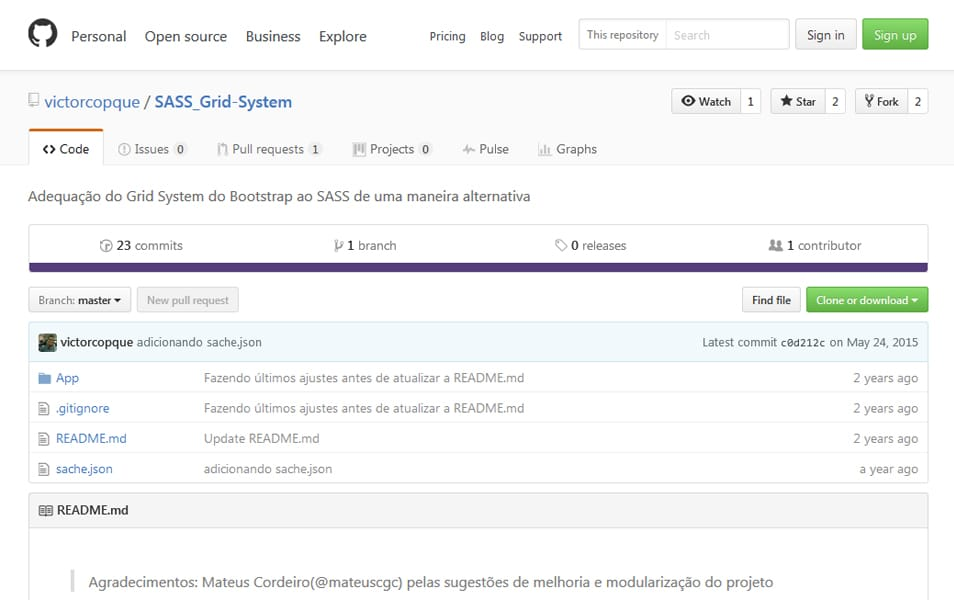 SASS Grid System