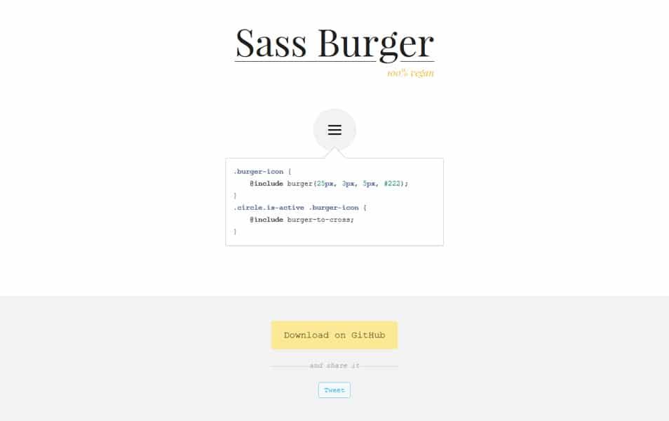 Sass Burger