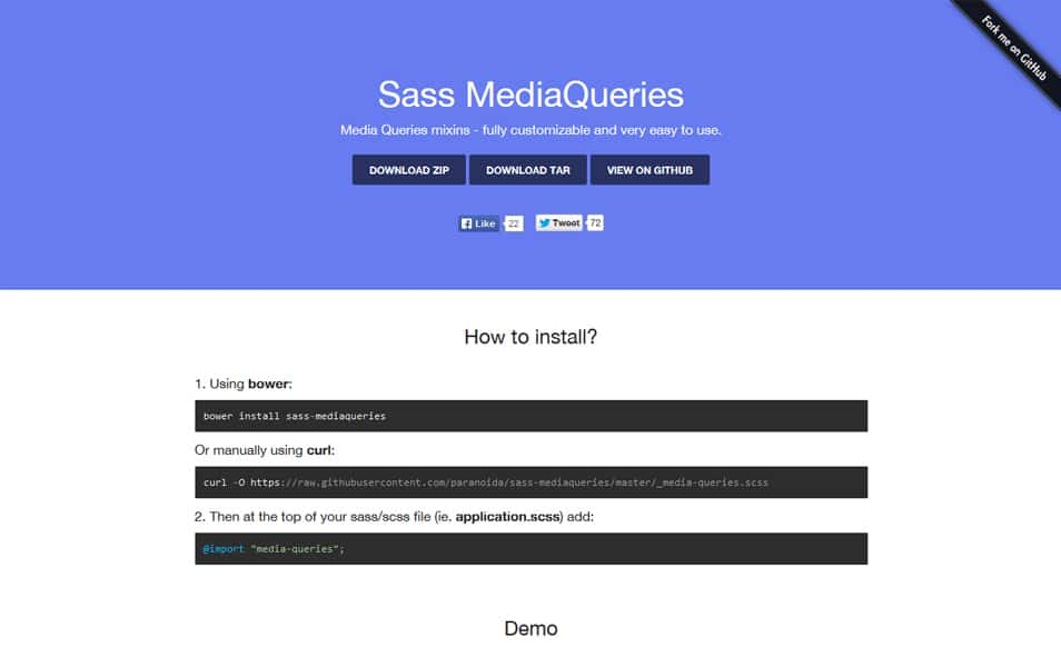 Sass MediaQueries