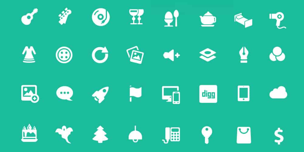 50 Free Solid Icons