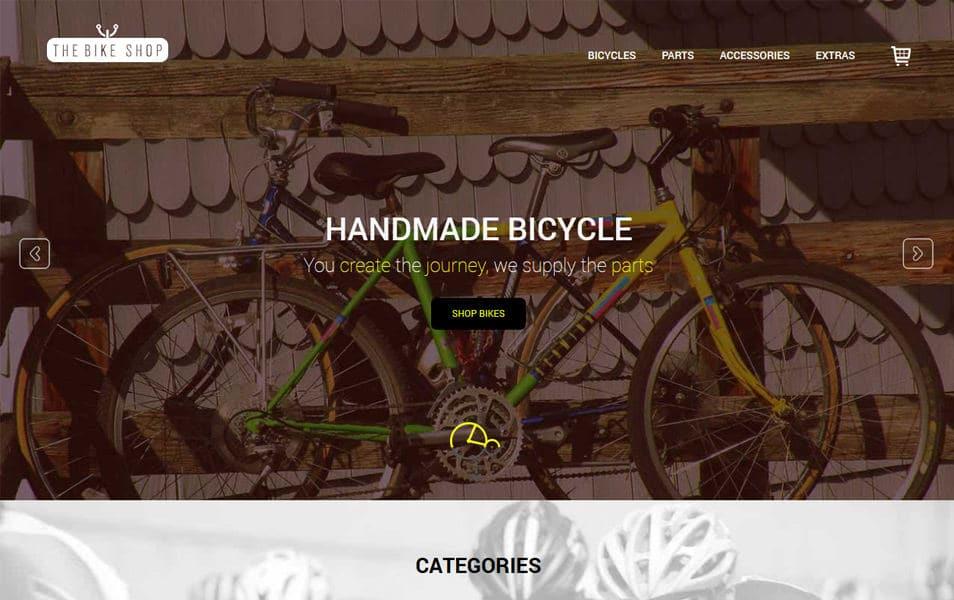 50 free responsive html5 e commerce website templates. Black Bedroom Furniture Sets. Home Design Ideas