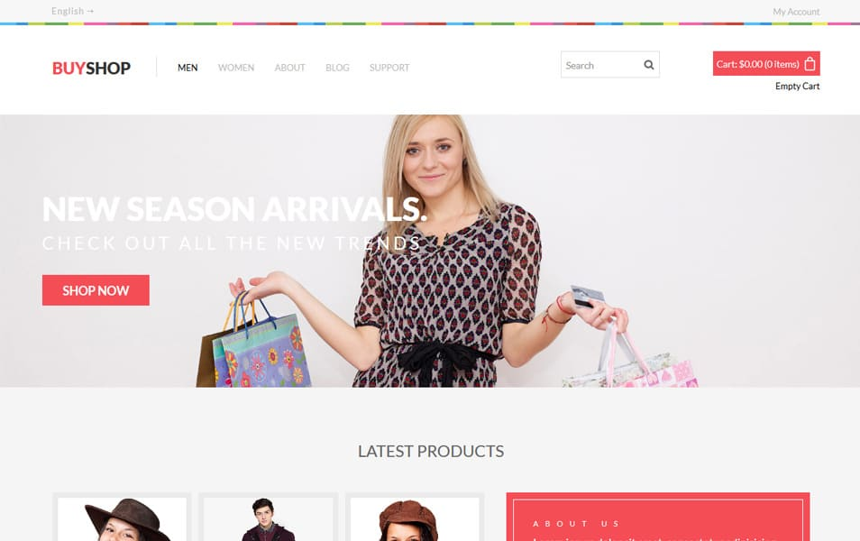 Buy Shop HTML Template