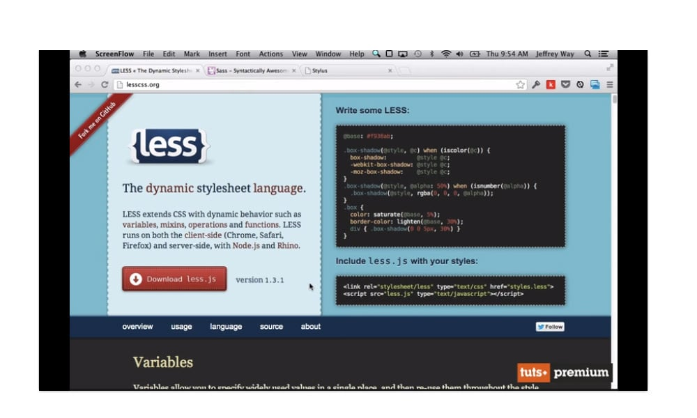 CSS Preprocessors, LESS, SASS and Stylus
