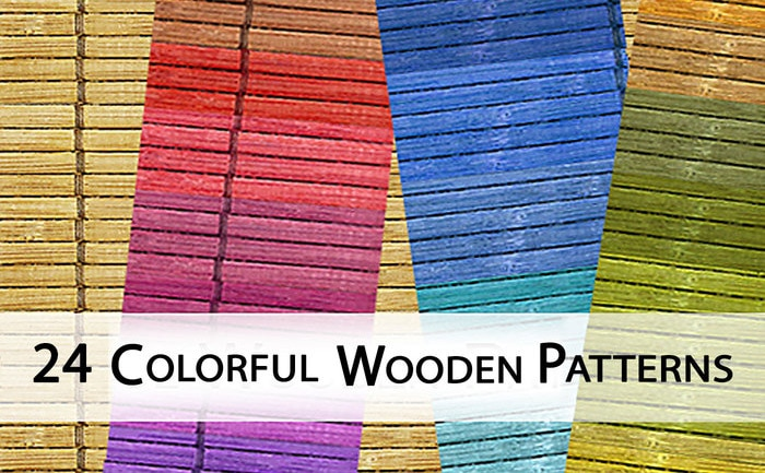 Colorful Wooden Patterns