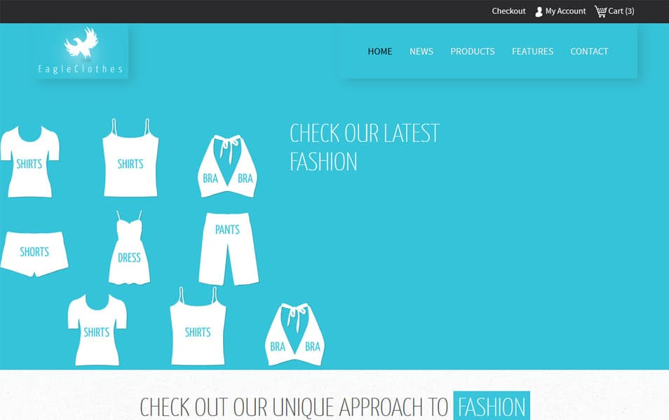 Eagle Cloths HTML Template