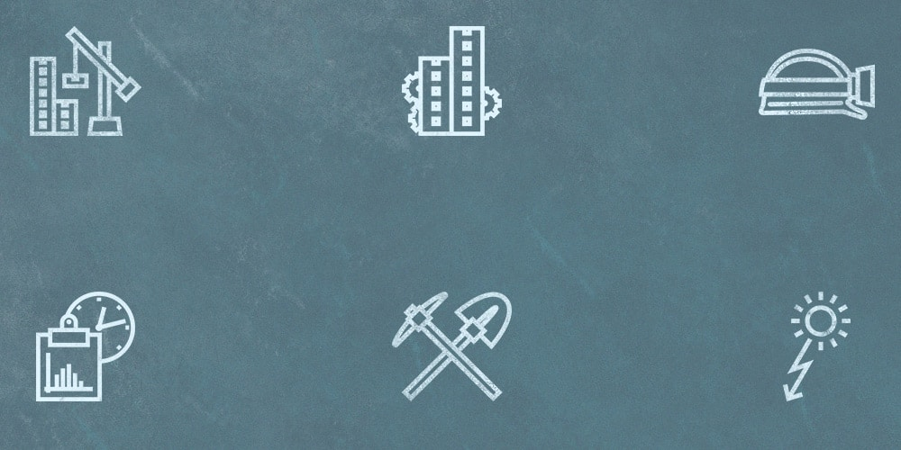 Free Construction Outline Icons
