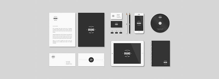 Free Identity and Brand Mockup PSD Kit