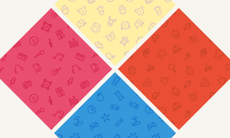 Free Seamless Icon Patterns