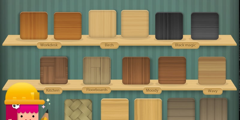 Free Wood Texture PSD