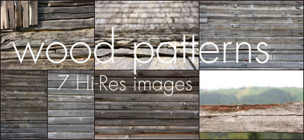 Hi-Res Wood Patterns
