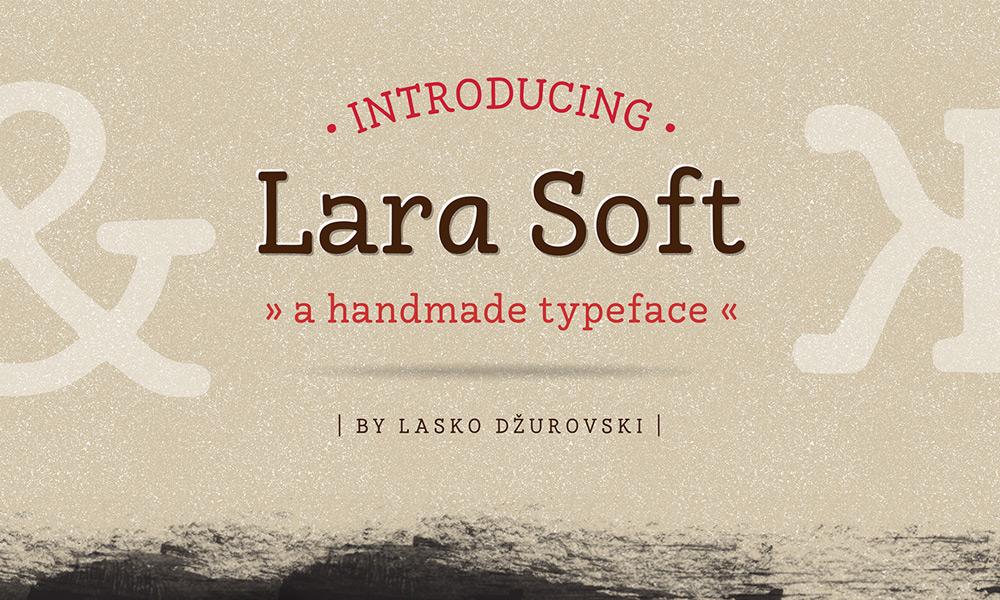 Lara Soft Free Font