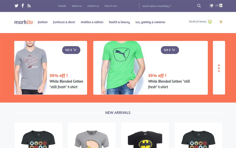 Markito HTML Template