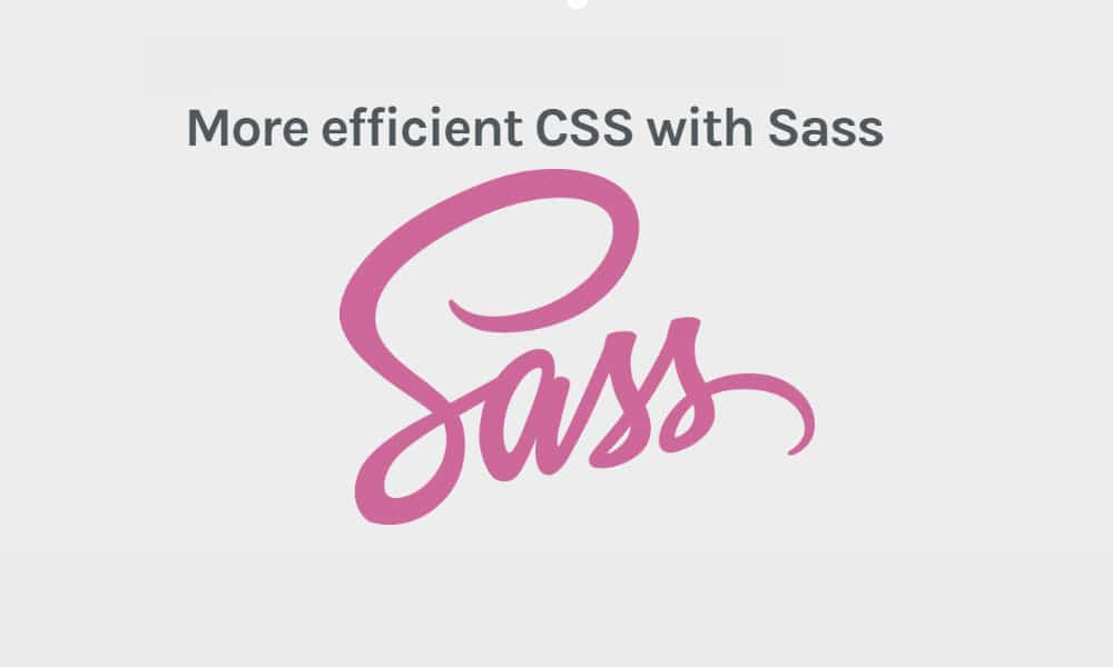 More efficient CSS with Sass