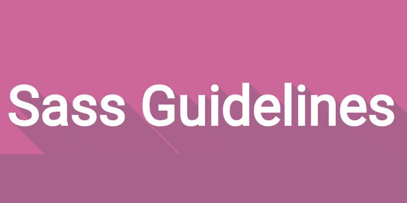Sass Guidelines